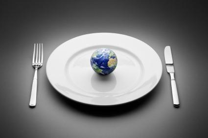 mercado de alimentos no mundo