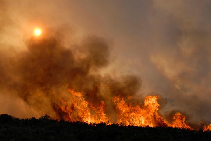 controle de incêndios