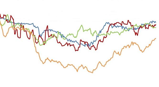 variação de preços do boi