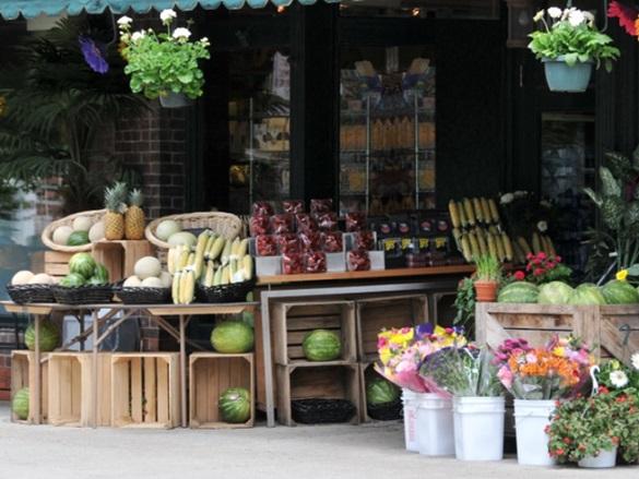 lojas de hortaliças