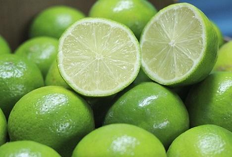 exportação de limão