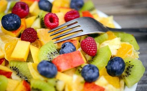 consumo de frutas e verduras