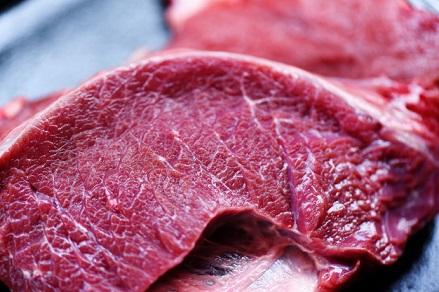 carne bovina em junho
