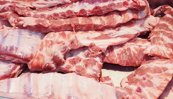 exportação de carne suína