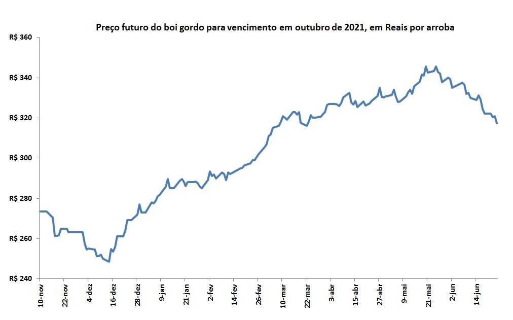 preço futuro do boi gordo