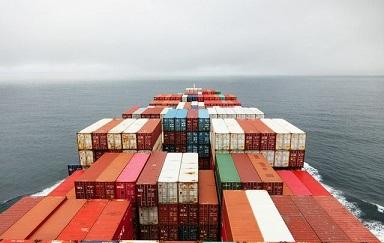 frete marítimo
